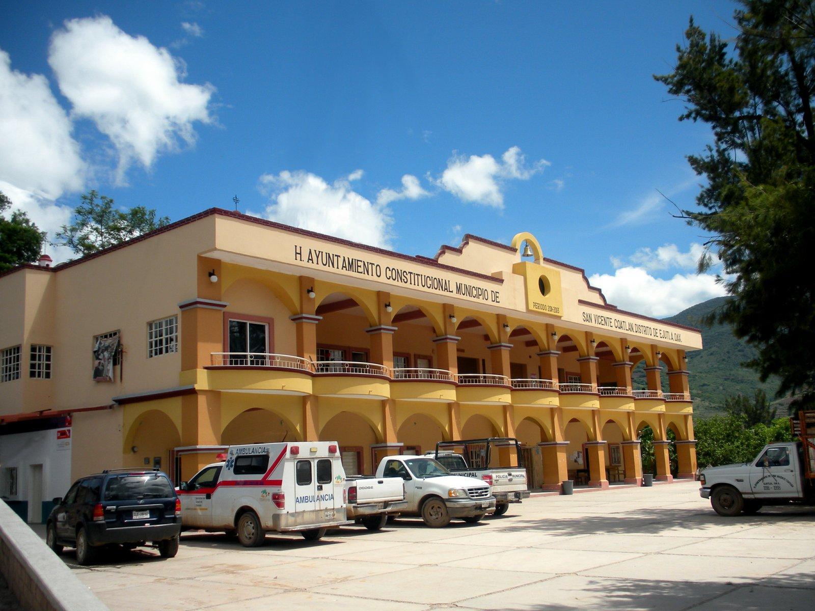 San Vicente Coatlán town hall