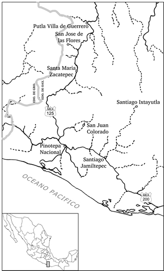 Map: Where Zacatepec islocated