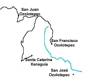 The towns that speak this variety of Zapotec