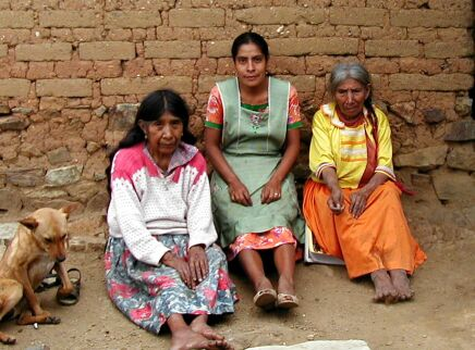 Zapotec women