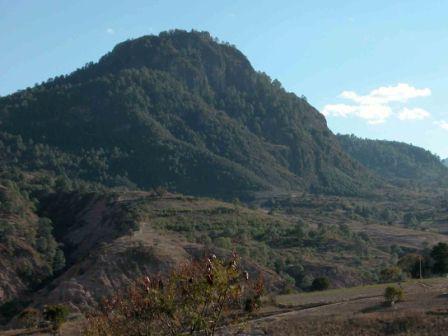 Cerro El Gachupín mountain