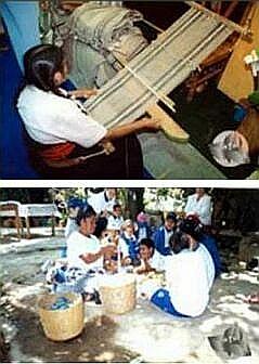 Hueyapan weavers