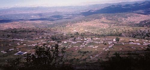 The town of San Andrés Yutatío