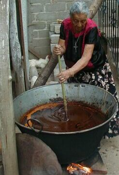 Making mole
