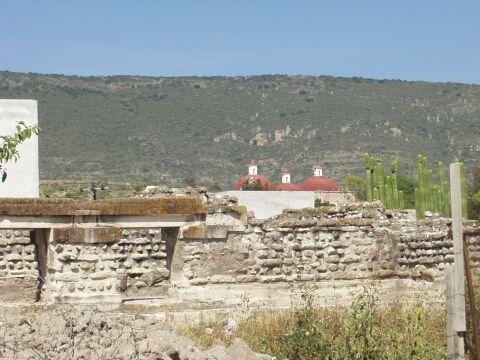 Mitla arroyo ruins