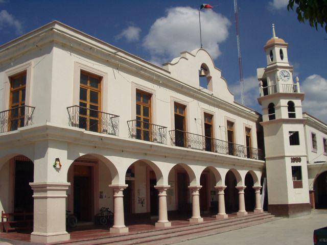 Mitla municipal hall