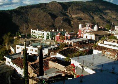 The town of Yalálag